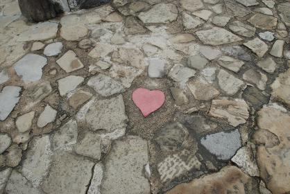 ハート型の石