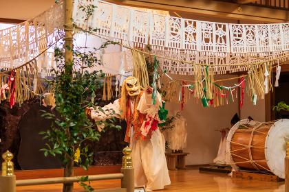 高千穂神社と夜神楽