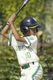 少年野球のバッター