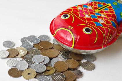金魚型貯金箱