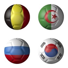 2014年ワールドカップHグループ
