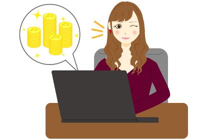 パソコン 女性 ポイント プラス