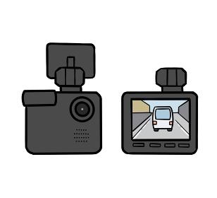 ドライブレコーダーのイラスト