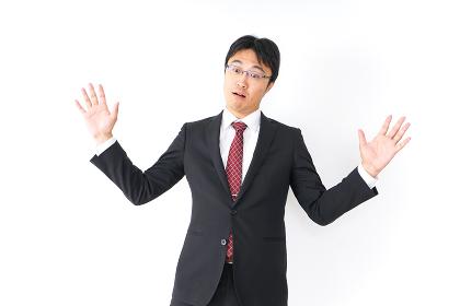 疑問・理解不能・ビジネスマン