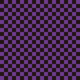 市松模様 黒×紫 S