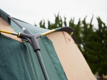 テントの骨組み