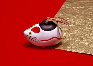 ネズミの土鈴