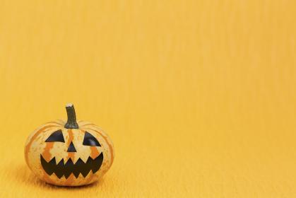 ハロウィンのおもちゃカボチャ