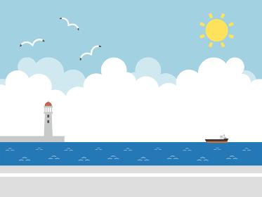 海 水平線
