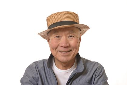 笑顔の日本人シニア