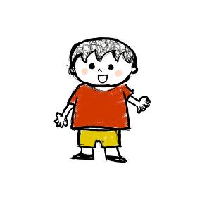 人物 子供 こども 子ども 少年 少女 男の子 女の子 男女 デフォルメ 可愛い かわいい POP