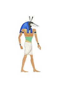 エジプト 神 セト 水彩 イラスト