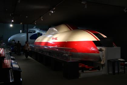 交通科学博物館(大阪市、2014年閉館)に展示されていたML500リニア模型