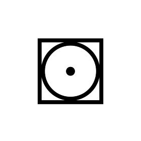 新洗濯表示記号 (低い温度でのタンブル乾燥処理ができる(排気温度上限60℃))