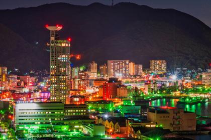 和布刈公園第二展望台から見る門司港レトロの夜景