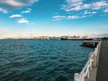 午後の横浜港の風景 2月