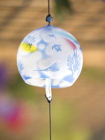 ガラス製の風鈴