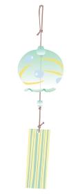 緑の風鈴のイラスト