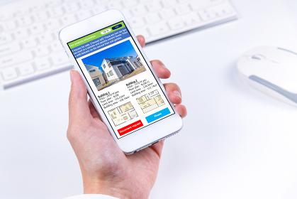 物件情報とスマートフォン