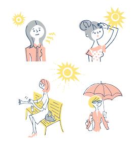 紫外線予防 女性 セット