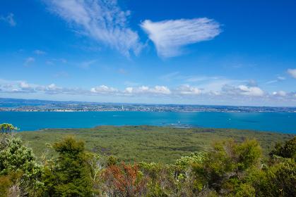 ランギトト島 中腹からの眺め