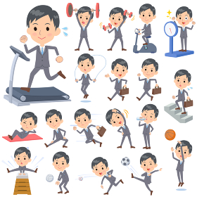 Businessman Sports