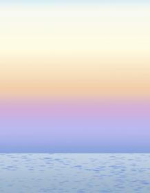 背景素材 早朝の海 風景