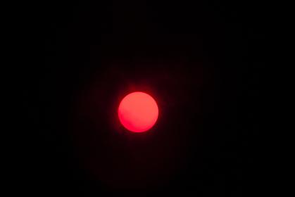 太陽望遠鏡から見た太陽