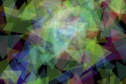 三角形の色彩構成