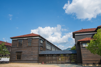 萩市の歴史遺産明倫学舎