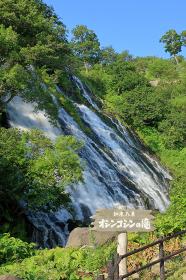オシンコシンの滝 知床 北海道