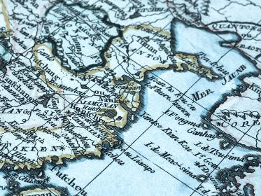 古地図 中国沿岸部