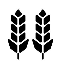 穀物(小麦・米)・食糧・食料・農作物 アイコン