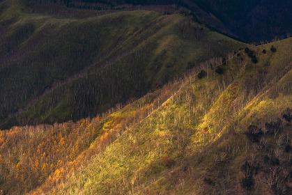 日本の国立公園・奥日光、半月山からの景色