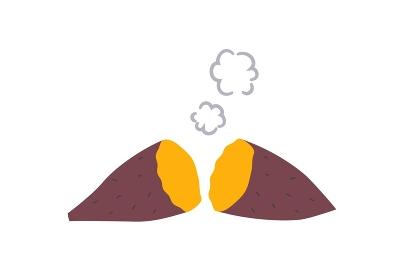 ホカホカの焼き芋