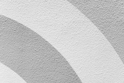 モノトーンの半円の模様のある壁 床 3862S