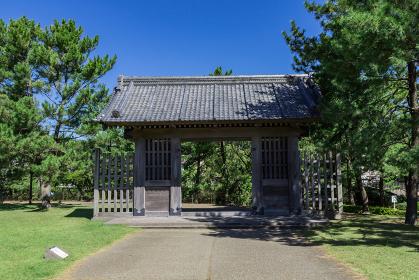 石橋記念公園西田橋御門 鹿児島県鹿児島市