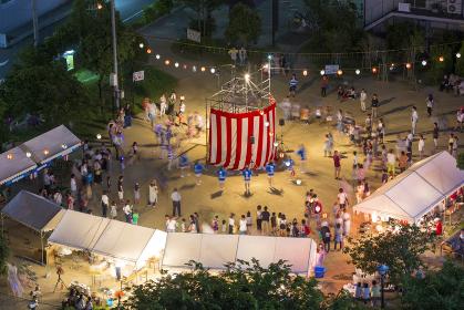 町内の夏祭り