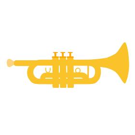 トランペットのベクターイラスト オーケストラ