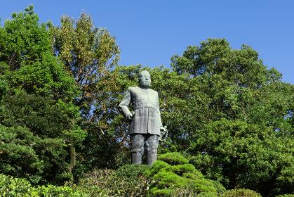 明治維新の三傑西郷隆盛銅像 鹿児島県鹿児島市