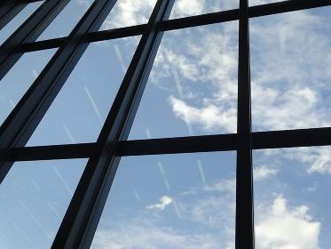 ビルの採光窓