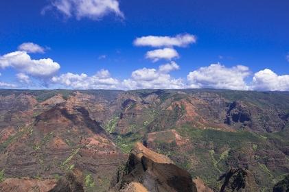 ハワイ カウアイ島 ワイメア渓谷