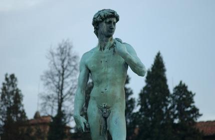 フィレンツェの彫像、イタリア