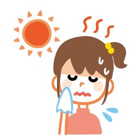熱中症 女の子 脱水症状