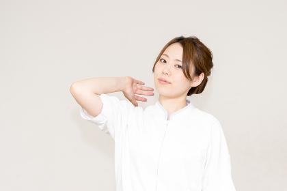 医療イメージ(女性・日本人・人物)