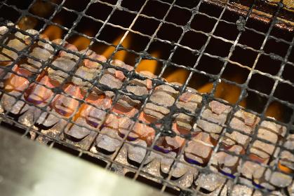 一人焼肉、焼き網