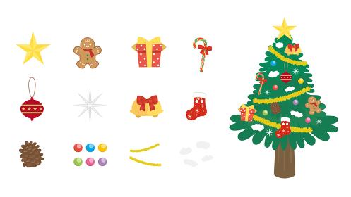 クリスマスツリー オーナメント 飾り