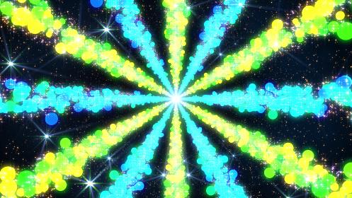 キラキラ 宇宙 スペース 天の川 輝く道 未来 スター 3D イラスト 抽象的 背景 バック