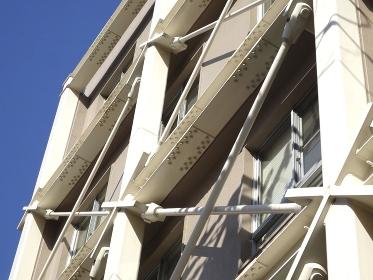 公共施設の耐震補強鉄骨