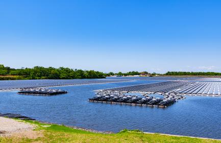 山倉水上メガソーラー 太陽光発電 【 カーボンニュートラル イメージ 】